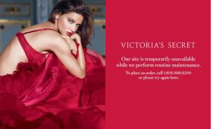 Victoria Secret is Down!